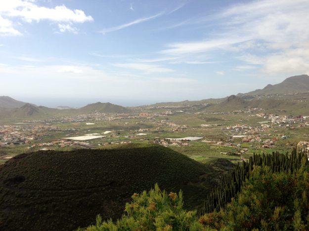Tenerife - descent from Mount Teide