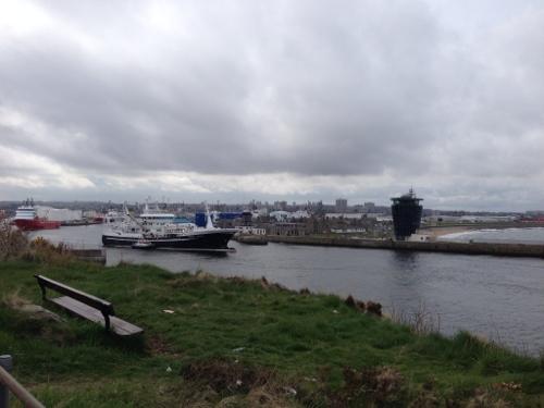 Aberdeen docks
