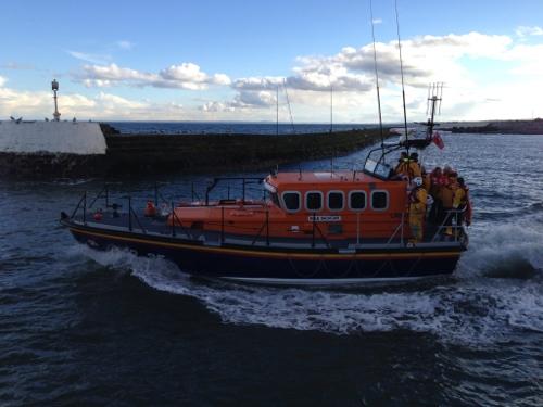 Arbroath life boat
