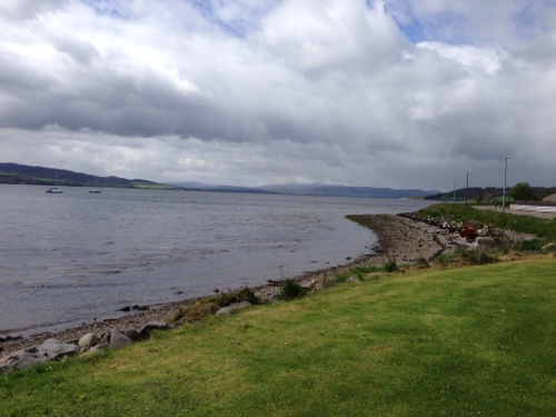 Beauly Firth - looking West