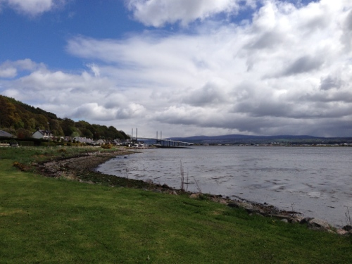 Beauly Firth and Kessock Bridge
