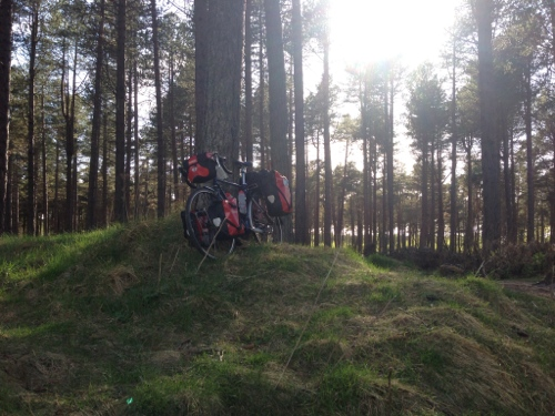 Tentsmuir and bike