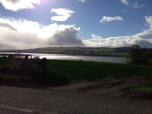 Cromarty Firth, A9 bridge