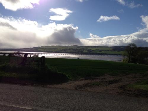 Cromarty Firth, A9 bridge