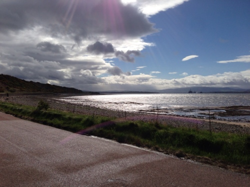 Cromarty Firth, Dingwall bound