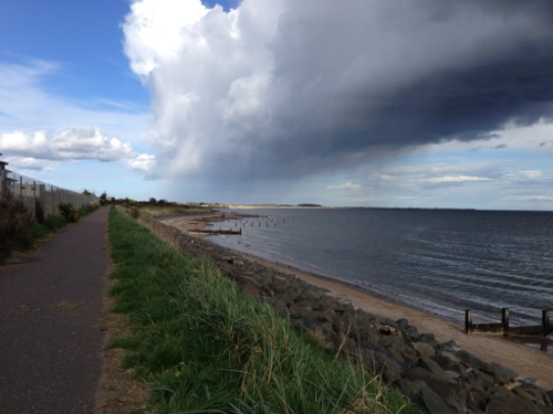 Cycle path to Arbroath