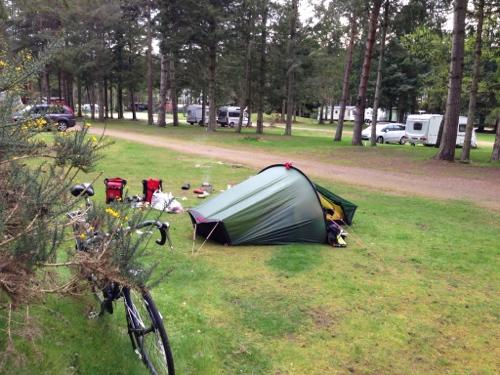 Delnies Wood campsite