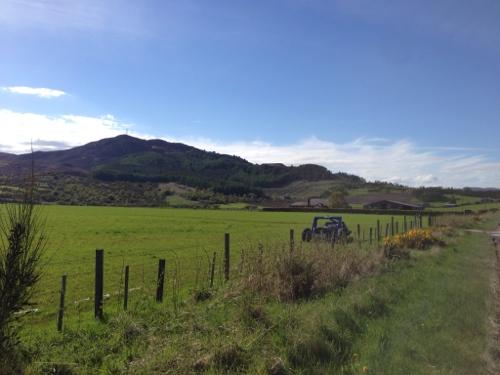Dornoch Firth countryside 1