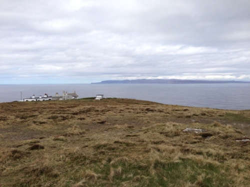 Dunnet Head, looking towards Orkney