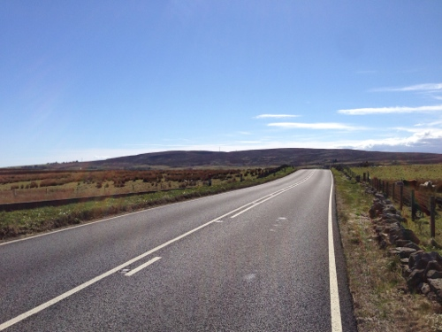 Endless road to Wick