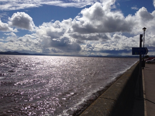 Firth of Tay - sun coming out