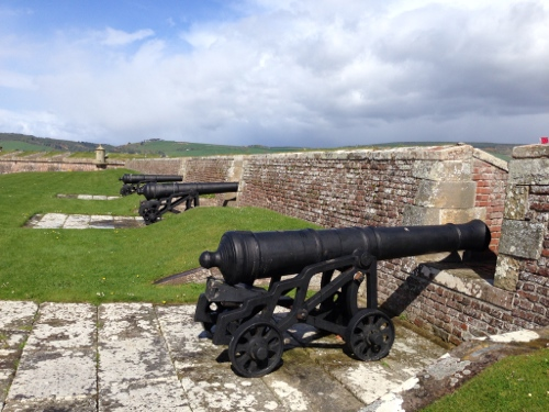 Fort George - cannons