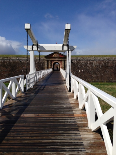 Fort George - inner drawbridge