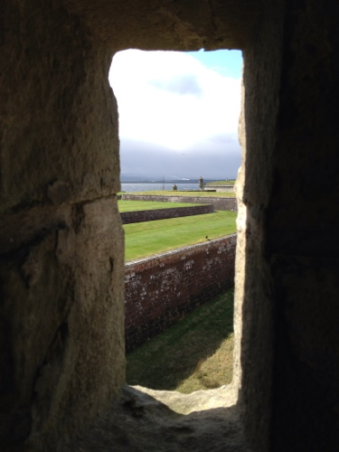 Fort George - turret view