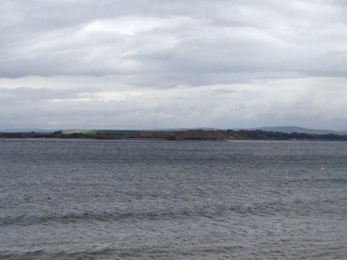 Fort George across the Firth