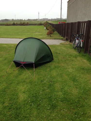 Fraserburgh campsite