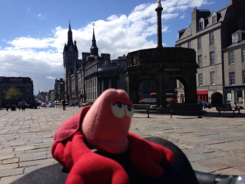 Giant Lobster invades Aberdeen