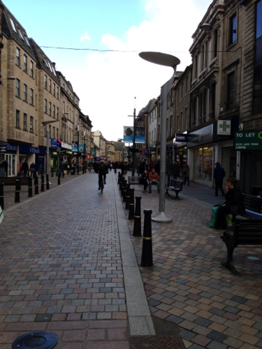 Inverness high street
