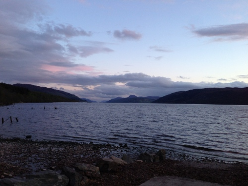Loch Ness 7 - sun going down