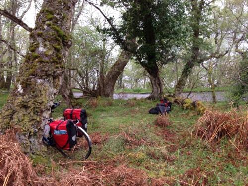 Loch Ness wild camp