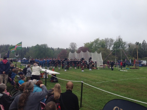 Massed Pipes and Drums