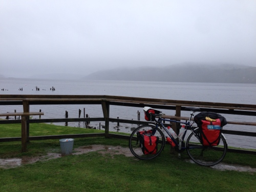 Mist on Loch Ness