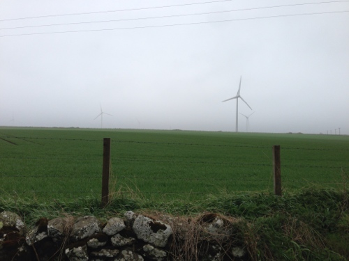 More wind farms in the fog
