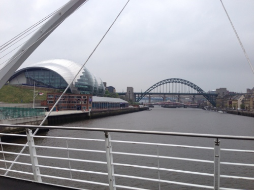 Newcastle cycle bridge