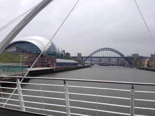 Newcastle cycle bridge