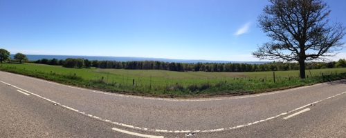 Post Golspie - lovely coastline