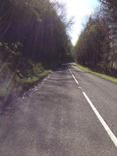 Road to Bonar Bridge