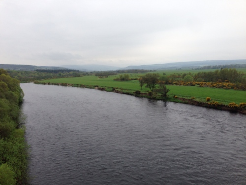 The Spey - looking south