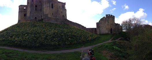 Warkworth Castle 1