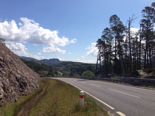 A830 going East