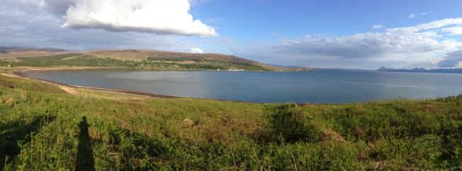 Applecross panorama