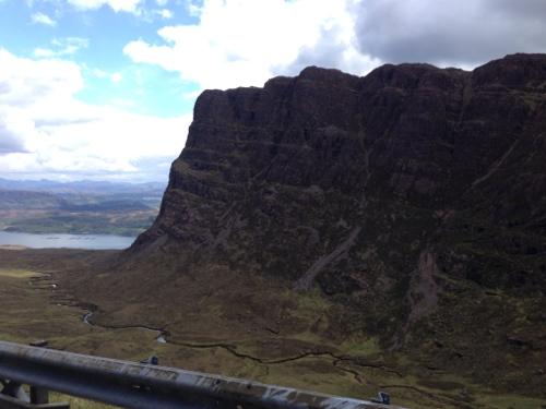 Bealach-Na-Ba - impressive cliffs