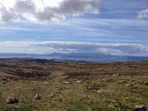 Bealach-Na-Ba - view from the top 1