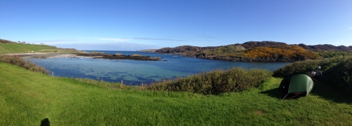 Beautiful day in Scourie