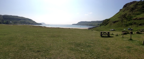 Calgary Bay and machair