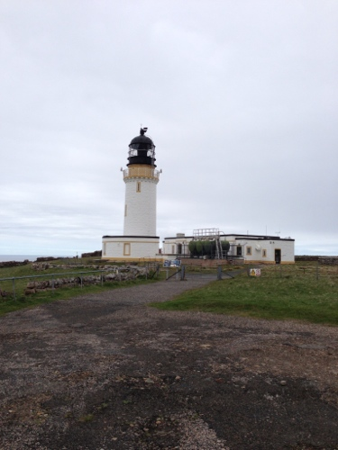 Cape Wrath Lighthouse and Ozone Cafe