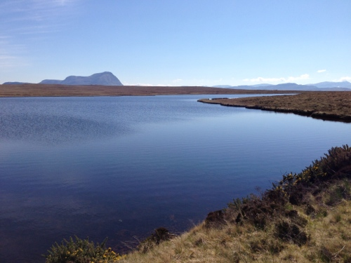 Clear blue lochs abounded