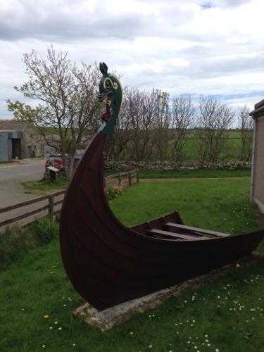 Closest I got to a Viking longship