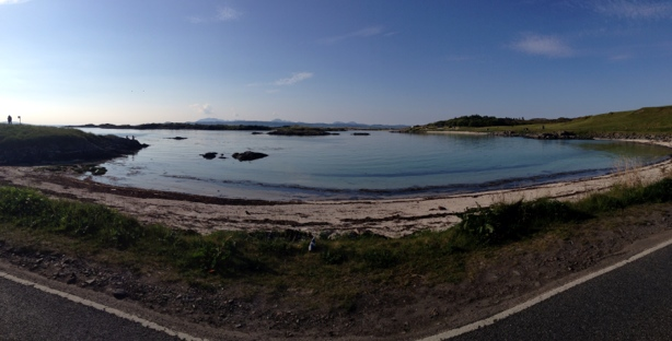 Coastline down to Arisaig