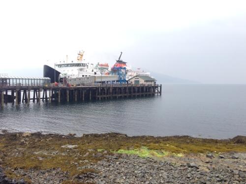 Craignure - ferry leaving