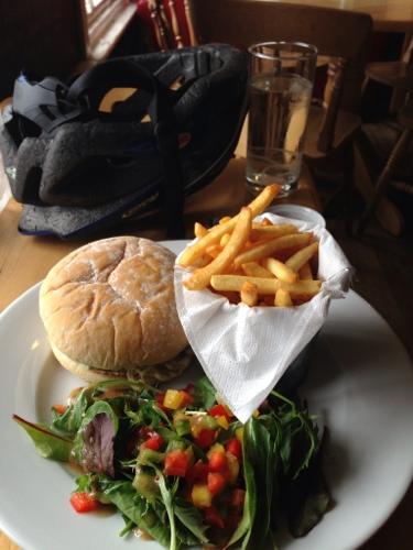Ferry Inn - sausage bap