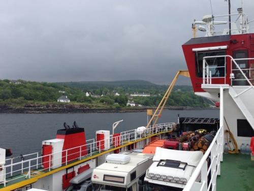Fishnish Ferry - a full load