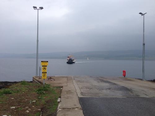 Fishnish Ferry incoming