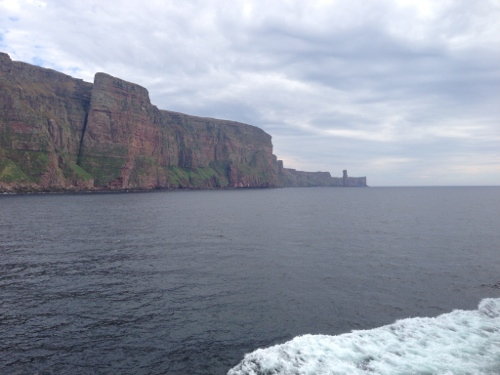 Hoy 2 - with old man of Hoy in background