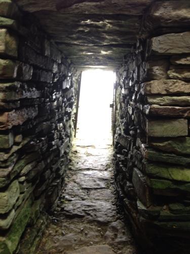 Inside the Unstan Cairn 3
