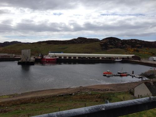 Kinlochbervie harbour